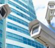 Security concept, selective focus on nearest